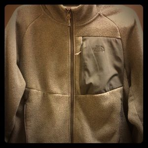The North Face Medium Tundra Grey Fleece Jacket